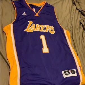 D'Angelo Russell 2015-16 lakers jersey size L